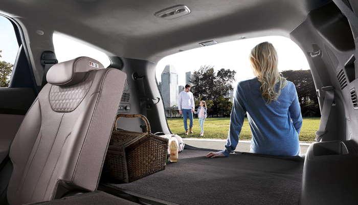 Хендай Санта Фе 2021 фото багажника