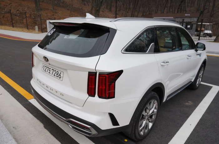 Новый кузов Киа Соренто 2021