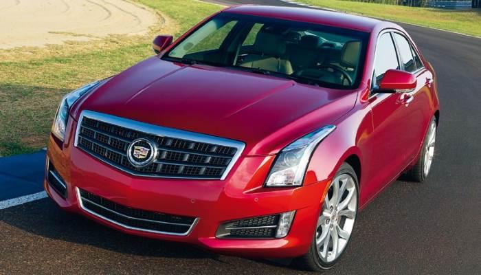 Cadillac ATS-2012