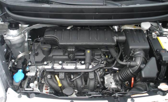 Двигатель Киа Пиканто