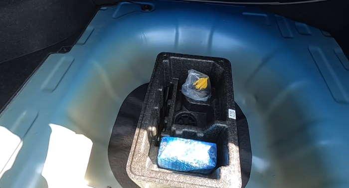Новая Хендай Элантра 2021 багажник