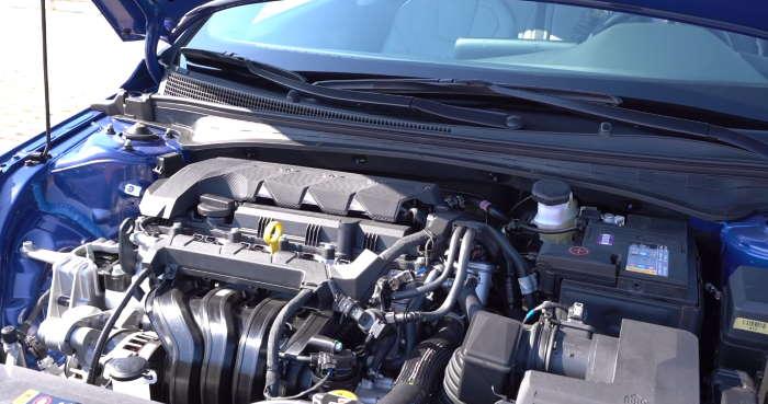 Новая Хендай Элантра 2021 двигатель
