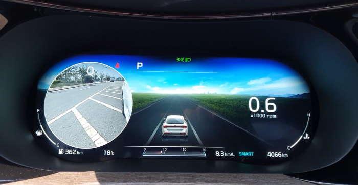 Киа Оптима 2021 фото панели приборов