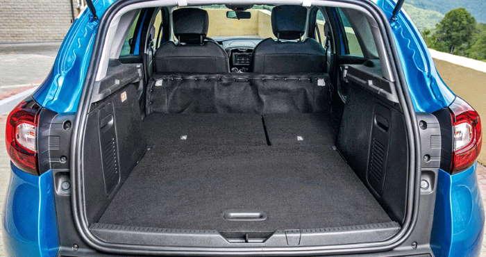 Новый Рено Каптур 2021 фото багажника