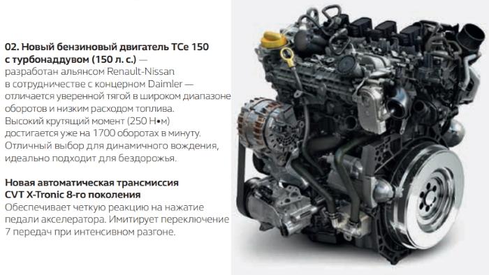 Новый Рено Каптур 2021 двигатель 1.3 литра