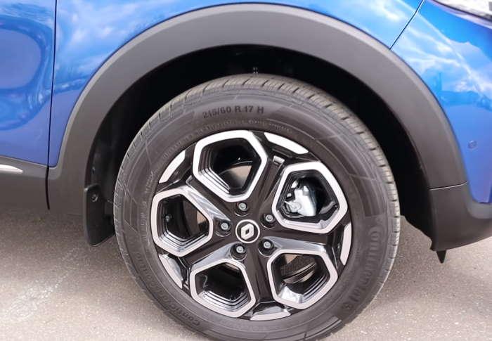 Новый Рено Каптур 2021 литые диски