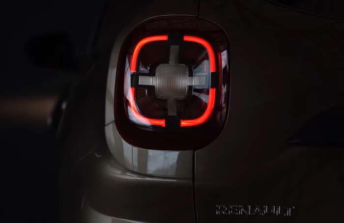 Рено Дастер 2021 фото задних фонарей