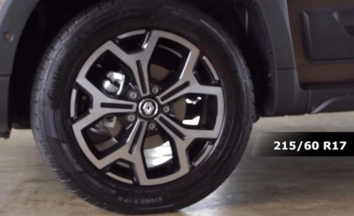 Рено Дастер 2021 фото новых 17-дюймовых дисков