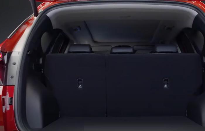 новый хендай туссан 2021 фото багажника