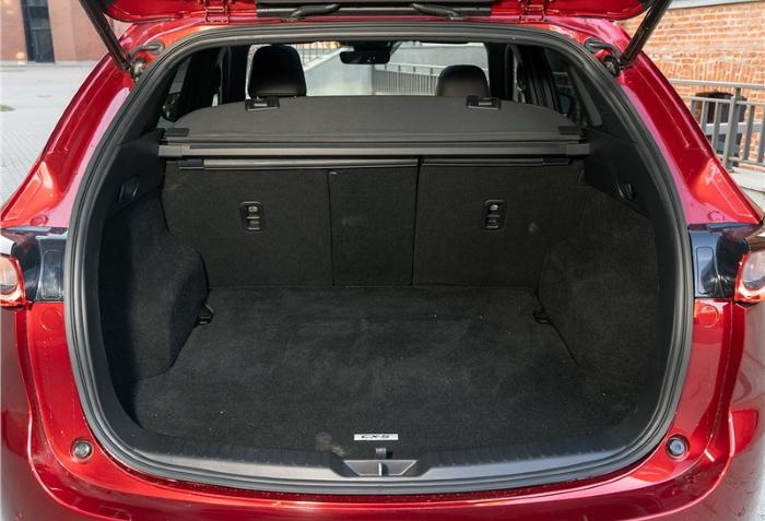 новая Мазда СХ 5 2021 фото багажника