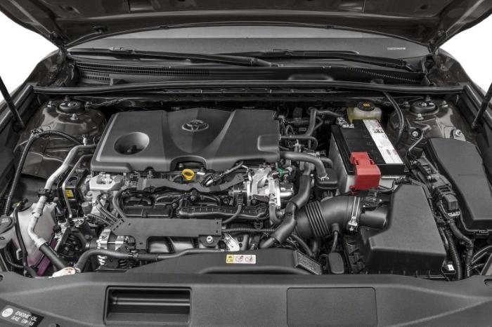новая тойота камри 2021 фото двигателя