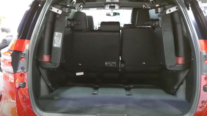 новый тойота фортунер 2021 фото багажника