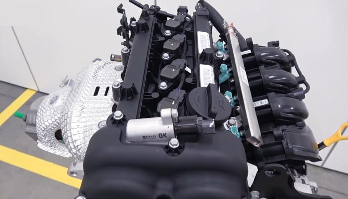 новый седан киа рио двигатель