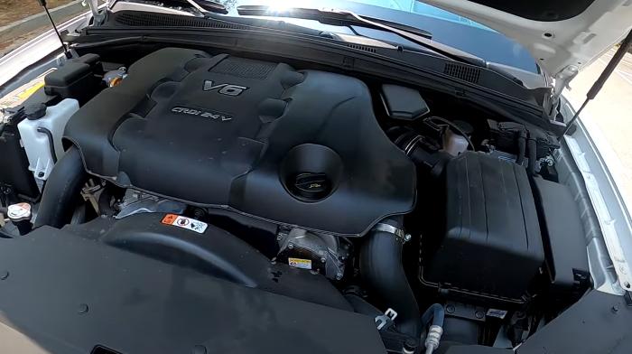 Новый Киа Мохаве 2020 фото двигателя