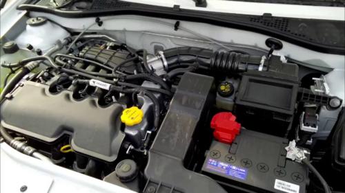 Мотор 1,6л на 8 и 16 клапанов, он будет выдавать 87 л. с. и 106 л.