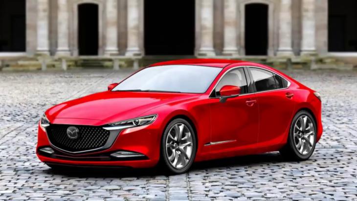 Новая Мазда 6 2021 модельного года